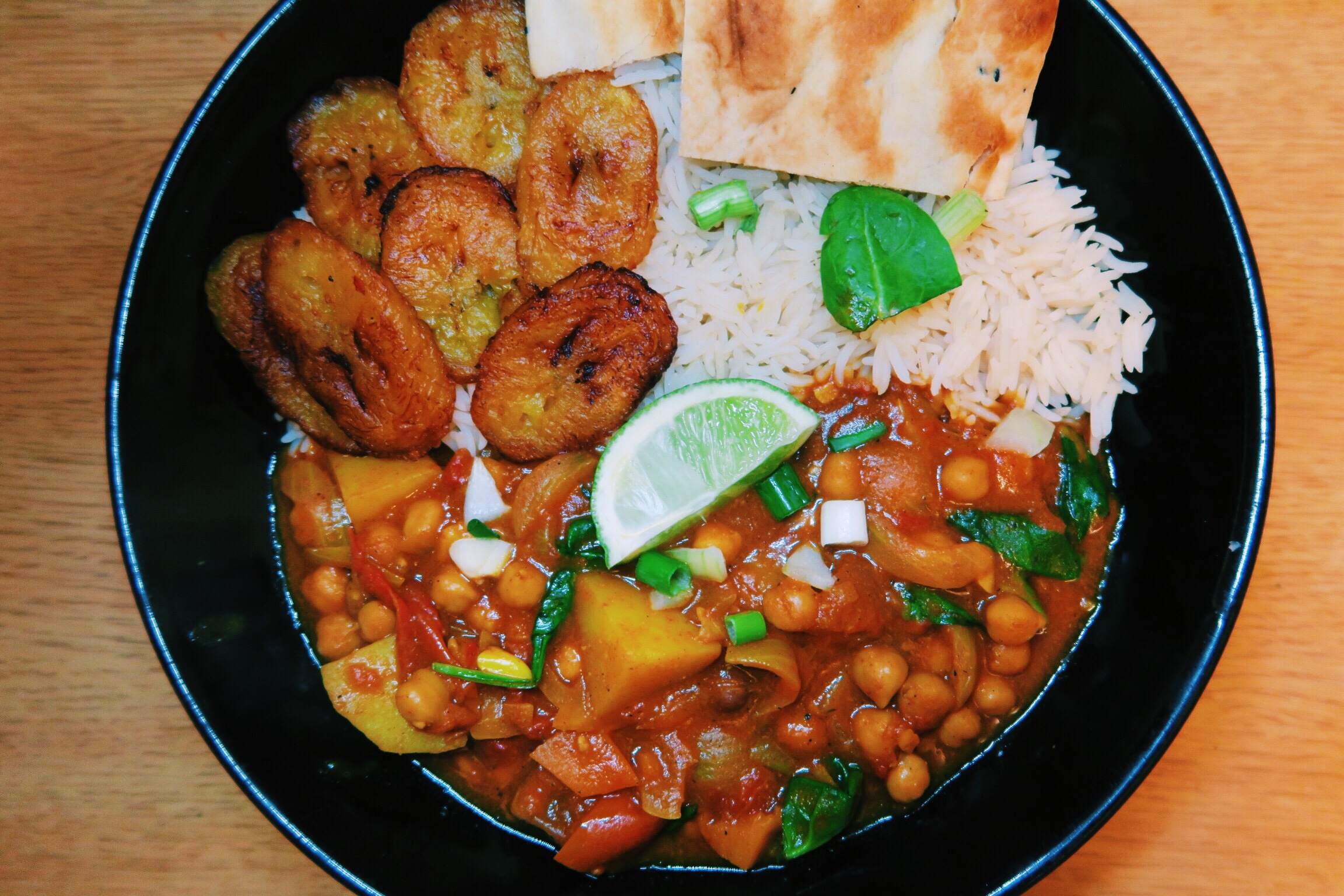Caribbean vegan curry recipe the food doll this is also a great dish for meal prep as it can be eaten with a range of sides not to mention super easy forumfinder Choice Image